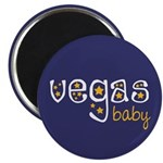"Vegas Baby 2.25"" Magnet (100 pack)"