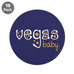 """Vegas Baby 3.5"""" Button (10 pack)"""