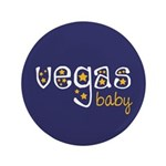 """Vegas Baby 3.5"""" Button (100 pack)"""