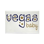 Vegas Baby Rectangle Magnet (10 pack)