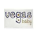 Vegas Baby Rectangle Magnet (100 pack)