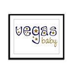 Vegas Baby Framed Panel Print