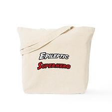 """Epileptic Superhero"" Tote Bag"
