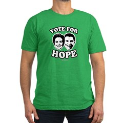 Vote for hope Men's Fitted T-Shirt (dark)