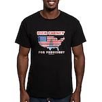 Dick Cheney for President Men's Fitted T-Shirt (da