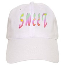Sweet (Cotton Candy Colors) Baseball Cap