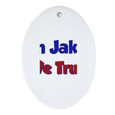 In Jake We Trust Oval Ornament