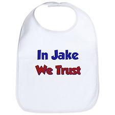 In Jake We Trust Bib