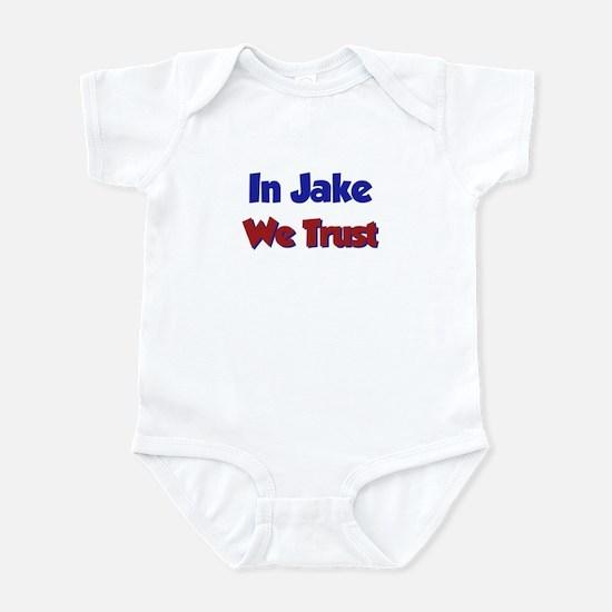 In Jake We Trust Infant Bodysuit