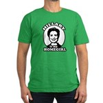 Hillary is my homegirl Men's Fitted T-Shirt (dark)