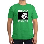 Obama 2008: Obama O eight Men's Fitted T-Shirt (da