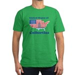 United States of Colbertica Men's Fitted T-Shirt (