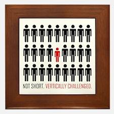 Vertically Challenged Framed Tile