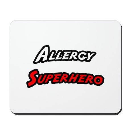 """""""Allergy Superhero"""" Mousepad"""