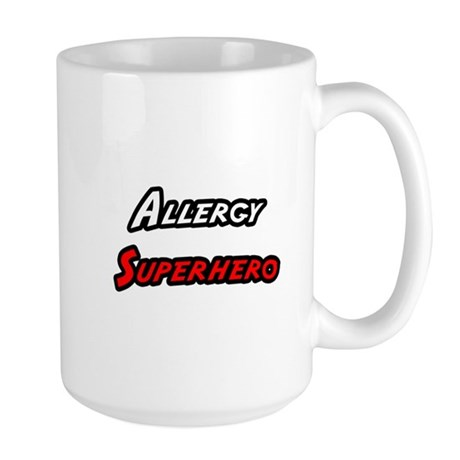 """Allergy Superhero"" Large Mug"