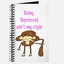 """""""Being Depressed ain't my sty Journal"""