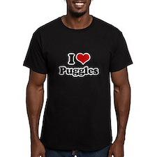 I Love Puggles T