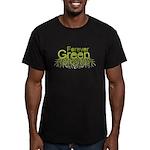 Forever Green Men's Fitted T-Shirt (dark)