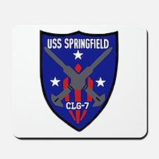 USS Springfield (CLG 7) Mousepad