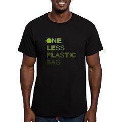 One less plastic bag T