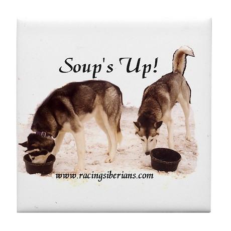 MCK Noor & Kenzi Soup's Up! Tile Coaster