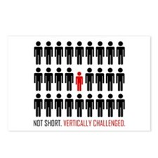 Vertically Challenged Postcards (Package of 8)