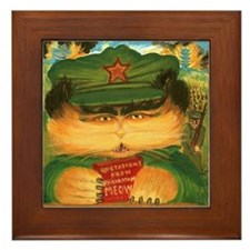 Chairman Meow Framed Tile