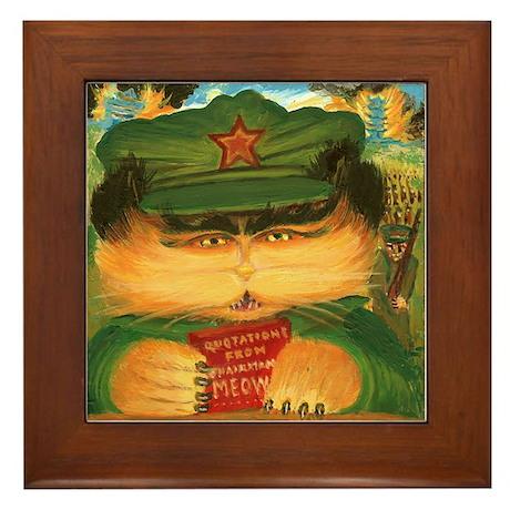 Chairman Meow Framed Tile