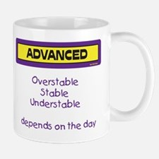 Depends on the Day Mug (Purple and Yellow)