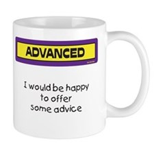 Advice Mug (Purple and Yellow)