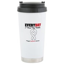 LungCancer MissMyMother Travel Coffee Mug