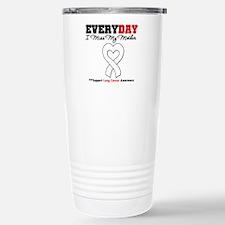 LungCancer MissMyMother Travel Mug