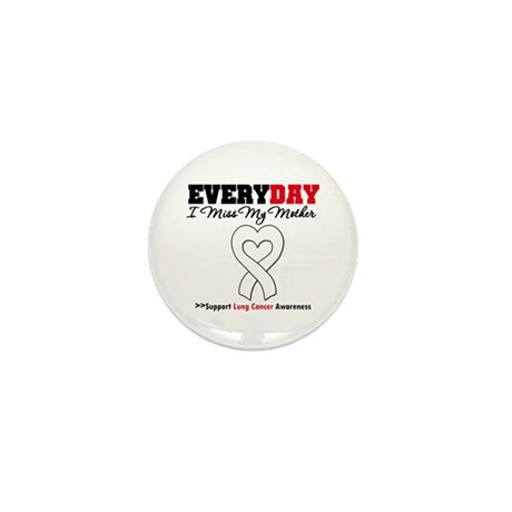 LungCancer MissMyMother Mini Button (10 pack)
