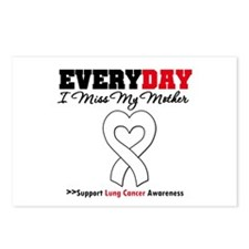 LungCancer MissMyMother Postcards (Package of 8)