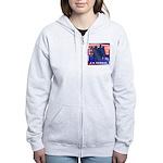US Veteran Women's Zip Hoodie
