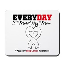 LungCancer MissMyMom Mousepad