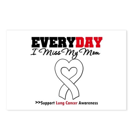 LungCancer MissMyMom Postcards (Package of 8)