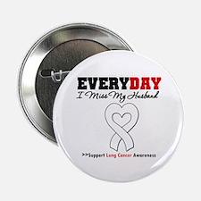 """LungCancer MissMyHusband 2.25"""" Button"""