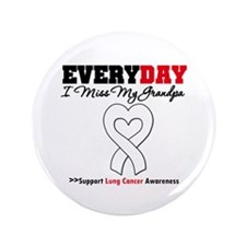 "LungCancer MissMyGrandpa 3.5"" Button"