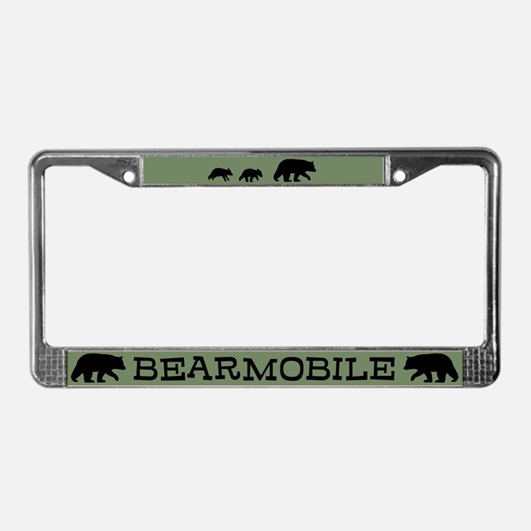 Bearmobile License Plate Frame