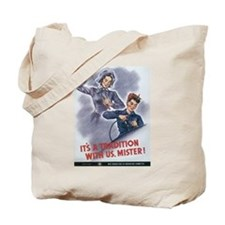 Women WII Tote Bag