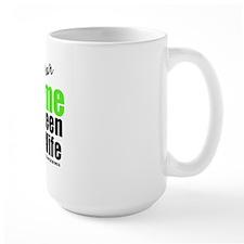 I Wear Lime Green For Wife Mug