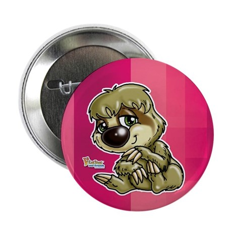 """Baby Sloth 2.25"""" Button (10 pack)"""