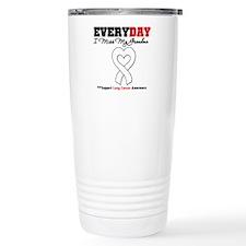 LungCancer MissMyGrandma Travel Mug