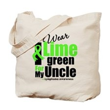 I Wear Lime Green For My Uncle Tote Bag