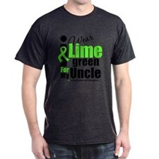 I Wear Lime Green For My Uncle T-Shirt