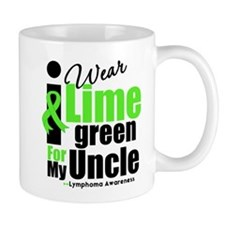 I Wear Lime Green For My Uncle Mug