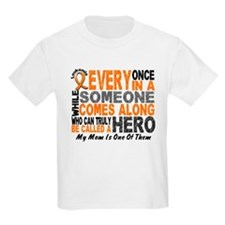 HERO Comes Along 1 Mom LEUKEMIA T-Shirt