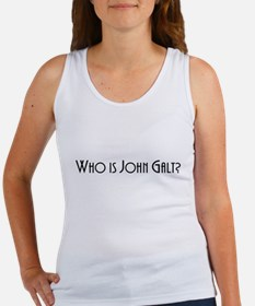 Who is John Galt? Atlas Shrugged Women's Tank Top