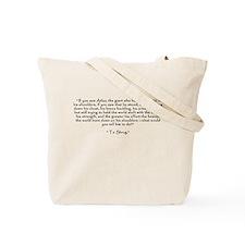 Who is John Galt? Atlas Shrugged Tote Bag